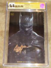 Batman #69 CGC SS 9.8  signed by Francisco Mattina GOLD COVER
