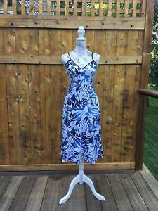 Floral Linen-Cotton midi dress