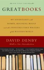 GREAT BOOKS by David Denby FREE SHIPPING paperback book literature philosophy