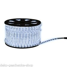 CADENA DE LUCES LED Manguera 2 Metros por Blanco 36 Leds/M 13 mm 365
