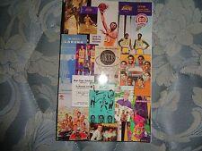 2007-08 LOS ANGELES LAKERS MEDIA GUIDE Yearbook KOBE BRYANT 2008 NBA Program AD