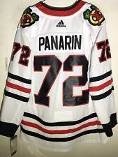 adidas Authentic NHL ADIZERO JERSEY Chicago Blackhawks Artemi Panarin Wht  sz 52 3a74f7e35