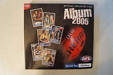 2005 - AFL - Herald Sun - Official Collector Album - Includes 188 cards.