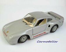 Burago Porsche 959 road car - Silver - 1:24 scale - Burago #0121