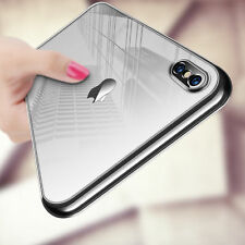 For Apple iPhone XS Max XR Case Luxury Ultra Crystal Clear Hard Thin Slim Cover