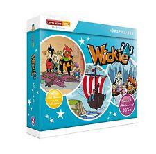 Hörspiel CD Sammelbox 2 Wickie ( 3Cds ) Neu / Ovp