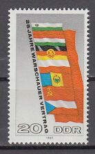 DDR East Germany 1980 ** Mi.2507 Flaggen Flags | Warschauer Vertrag Warsaw Pact