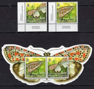 Pitcairn Isl. - Butterflies / Insects / Fauna on postage stamps MNH** F104