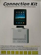 5+1 en 1 Kit de Conexión de Cámara USB SD lector de tarjetas adaptador para Apple iPad
