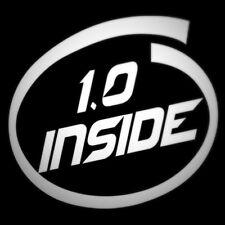 1.0 litros de Interior Divertido decal sticker para coches de motor pequeño 107 Up C1 JDM