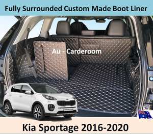 Premium Custom Made Trunk Boot Mats Liner Cargo Cover For Kia Sportage 2016-2020
