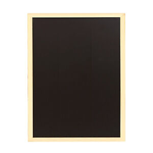 40*60 PREMIUM BLACKBOARD MAGNETIC WOODEN FRAMED OFFICE NOTICE MENU CHALK BOARD