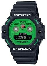 Casio G-shock Orologio DW-5900RS-1JF Caldo Rock Suoni Uomo Nero Verde Digitale