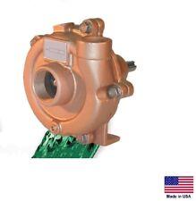 "CENTRIFUGAL PUMP - Cast Bronze - Belt Driven - 1"" & 3/4 Ports - 3,420 GPH"