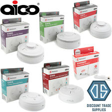 Aico Mains Optical Smoke, Heat, Multi-Sensor Fire Alarm & SmartLink Module