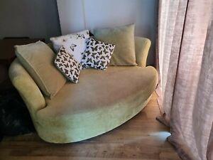 Cuddler sofa/love Chair
