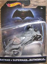 New Hot Wheels BATMAN V SUPERMAN BATMOBILE DC Comics Batman Car
