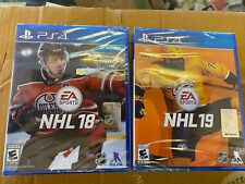 NHL 18 & 19 Playstation 4 PS4 BRAND NEW AND FACTORY SEALED!