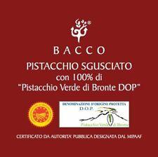 PISTACCHIO SGUSCIATO - 100% DI PISTACCHIO VERDE DI BRONTE DOP - conf. da 1 kg.
