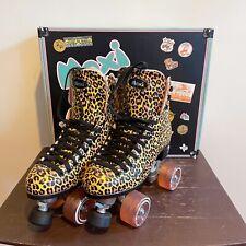 Moxi Skates Ivy Jungle - Womens Roller Skates   Leopard   Size 5