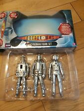 More details for doctor who age of steel cyberman figure set tenth planet, tomb of, the invasion