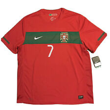 2010 Portugal Home Jersey #7 Ronaldo XL Nike Soccer World Cup CR7 NEW