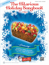 """""""THE HILARIOUS HOLIDAY SONGBOOK"""" PIANO/VOCAL/GUITAR MUSIC BOOK-BRAND NEW ON SALE"""