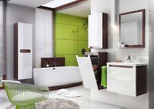 Badmöbel Set mit Waschbecken 80 cm Badezimmer Unterschrank +Hochschrank +Spiegel