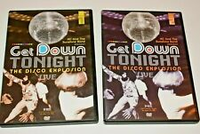 Get Down Tonight DVD The Disco Explosion Live Concert Event  2005- Volume 1&2