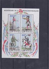 FRANCE 1989 BICENTENAIRE DE LA REVOLUTION FRANCAISE BF NEUF ** YT 10