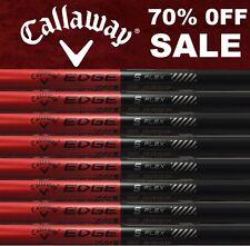 9 New Callaway Edge Stiff Flex Set Graphite Iron Shafts .370 made by Grafalloy