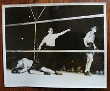 Original Vintage Boxing Photo: Joe Louis vs James Braddock
