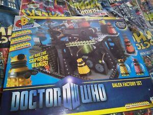 Doctor Who Dalek Factory Set Unopen