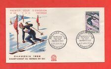 FDC 1962 - Championnat du Monde de ski à CHAMONIX   (693)