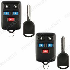 2 Replacement for Lincoln 03-10 Navigator Mercury 04-07 Monterey Remote Key Set