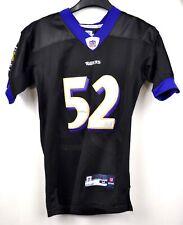 BALTIMORE RAVENS stitched R LEWIS #52 Old Logo Jersey Medium Women Shirt NFL top