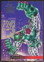 1995 Flair Marvel Annual Trading Card #54 Facade