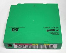 HP LTO-4 ULTRIUM 1.6TB RW DATA CARTIDGE P/N C7974A USED