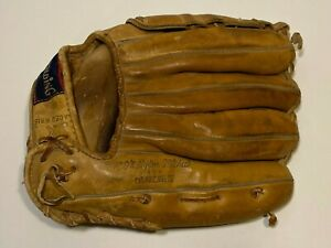 Vintage Spalding Baseball Glove Ken McMullen Autograph Model 42-256 USA Made-LHT