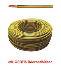 30m Erdungskabel 10mm² Grün/Gelb feindrähtig H07V-K - Profi-Line