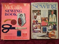 Vintage Sewing Books, Honor Gillott Sewing, McCall's Sewing Book 1968, 1973