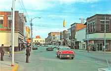 Florence SC Evans Street Store Fronts Old Cars Postcard