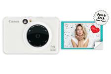 Canon IVY CLIQ + Plus Instant Camera Printer (Pearl White) PP2001 NIB