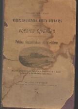 Jules Launay.Vieux Souvenirs Vieux Refrains.Poésies granvillaises,1886