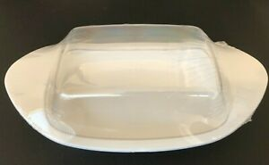 Butter Dish with Cover Plastic Home & Abode Brand New & Factory Sealed