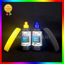 3M Extra Fine Plus Liquide de polissage+Ultrafina SE+ 2x NAT Mousse de polissage