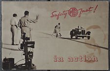 MG TD c1952/3 Goldie Gardner salt flats racing promotional brochure