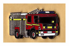 Fire Brigade Scania Fire Engine Enamel Pin Badge fire and rescue service (227)