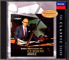 Clifford Curzon brahms piano concerto 1 Franck Variations LITOLFF SZELL Boult CD