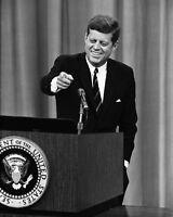 35th US President JOHN F KENNEDY JFK Glossy 8x10 Photo Historical Print Poster